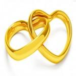 Два  ваших золотых сердца